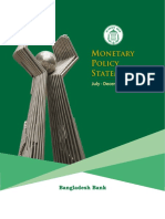 MONETARY POLICY 2017 (jULY-dECEMBER) MPS BANGLADESH BANK