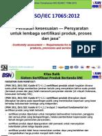 Presentasi BSN KAN tentang Transisi ISO/IEC 17025:2017