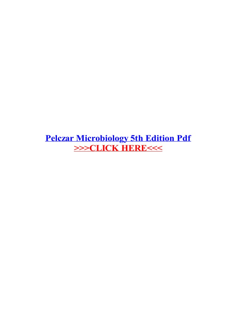 Pelczar microbiology 5th edition pdf biology earth life sciences fandeluxe Image collections
