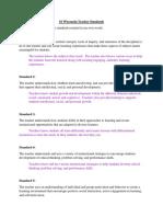 10 wisconsin teacher standards