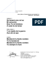 YOU ARE/YOU ARE LORD - Spanish Official Translation