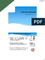 El Rol Del Supervisor - NTL MINERIA 1000