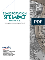 Transportation Site Impact Handbook_April_2014