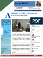 Eth Embassy in South Africa Newsletter Nov2017
