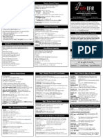 Rekall Memory Forensics Cheatsheet