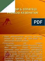 Prinsip & Strategi Promkes Pert 3