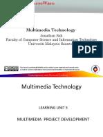 Multimedia Project Development