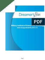 2014DBF MilitaryIsntituteofScience&Technology Dreamer'Sfin