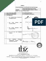 TBZ - Annual Report 2014-15