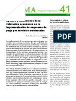Aportes y Limitaciones de La Valoracion Economica en Implementacion Esquemas PSA (1)
