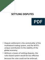 Dispute Settlement AMITY JAIPUR BBA