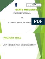 Ptk Project Proposal