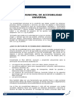 Plan Accesibilidad Universal - Aprobado CE