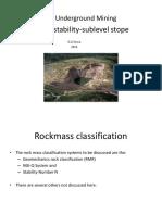 Rock Mechanics-Hydraulic Radius