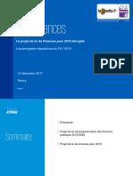 Le PLF 2018 par Romain SZYDLOWSKI (KPMG)