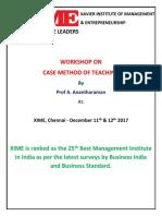 Brochure_V1 Case Method of Teaching