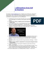100 Positive Affirmations from Self Improvement Teachers.docx