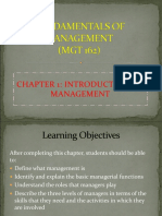 CHAPTER 1-Introduction to Mgt