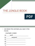 The Jungle Book Task