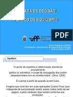 GESTÃO DE CUSTOS - Ponto de Equilíbrio.ppt