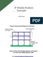 7c - MDOF Modal Analysis Example