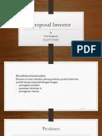 proposal investor