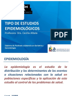 Tipo de Estudios Epidemiológicos CAlbala 2016