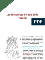 Les Ressources en Eau de La Tunisie_2014
