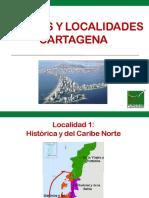 Localidades y Barrios Cartagena