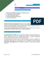 Tema 5 Empresa en El Aula, El Departamento de Administración