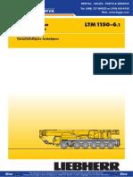 Liebherr LTM1150 6.1