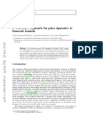 A Multilayer Approach for Price Dynamics in Financial Markets