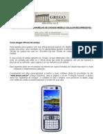 Aparelho de Choque - Formato de Celular