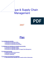 Introduction Fondements Logistiques