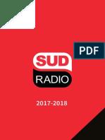 Plaquette régie publicitaire 2017-2018