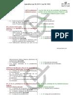 Comparativa Ley 39 2015 Ley 30 1992