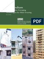 Compendium of Prospective Emerging Technologies for Mass Housing - Second EditionAtt