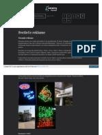 Metaling Svetlece Reklame Neon Reklama