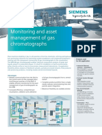 Monitoring and Asset Management of Gas Chromatographs