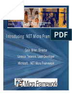 MicroFramework ESC Presentation