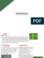 Material Used in Bijapur Site