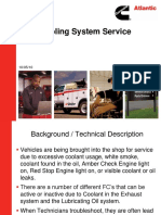 Cooling System Service 2010 CALLC