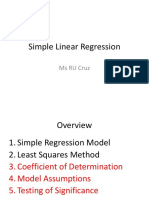 Simple Linear Regression3