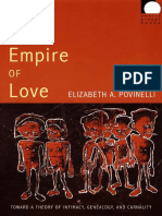 Elizabeth A. Povinelli - The Empire of Love