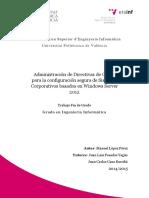 LÓPEZ - Administración de Directivas de Grupo para la configuración segura de Sistemas Corporativ....pdf