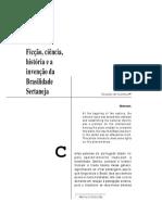 OLIVEIRA, R. Ficção, Ciência, História e a Invenção Da Brasilidade Sertaneja