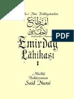 Said Nursi- Emirdağ Lâhikası- Envar Neşr.1996