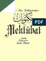 Said Nursi- Mektubat- Envar Neşr.1996