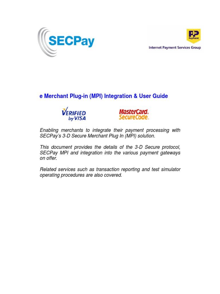 Secure 3 d Guide | E Commerce | Financial Technology