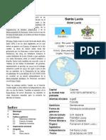 Santa Lucía - Wikipedia, la enciclopedia libre